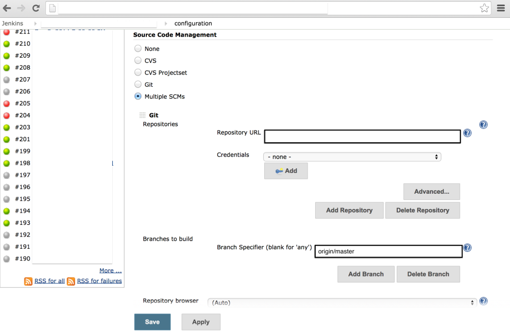 9 steps to Configure Jenkins with Calabash/Cucumber (2/6)