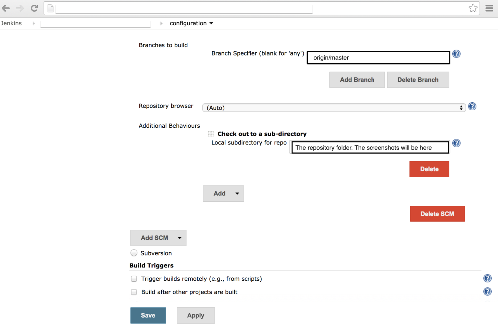 9 steps to Configure Jenkins with Calabash/Cucumber (4/6)